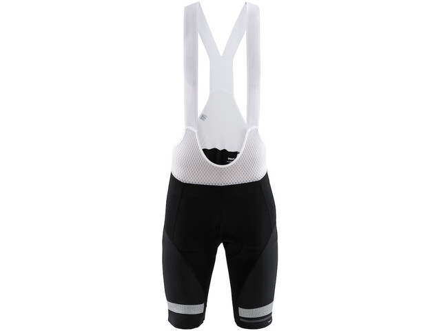 Craft Hale Glow Bib Shorts Herren black/silver